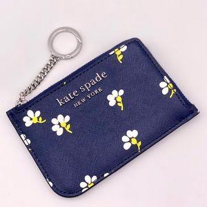 Kate Spade Daisy Toss MD L-zip Card Holder Wallet